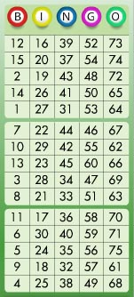 Bingo Nummer