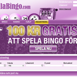 Bella Bingo hemsida