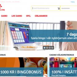 Bingo.com hemsida