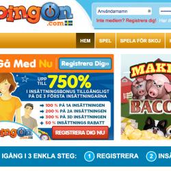 bingon.com hemsida