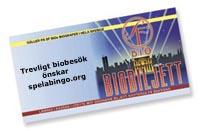 gratis biobiljetter