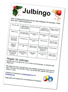 spelabingo-julbingo