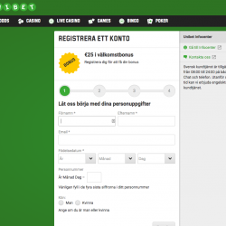 unibet registrera konto